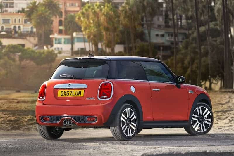 Mini three-door hatch (2018) rear | The Car Expert