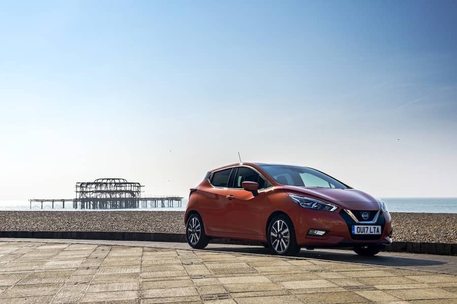 Nissan Micra (2017) front view | The Car Expert