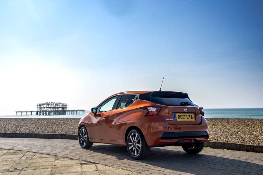 Nissan Micra (2017) rear view | The Car Expert