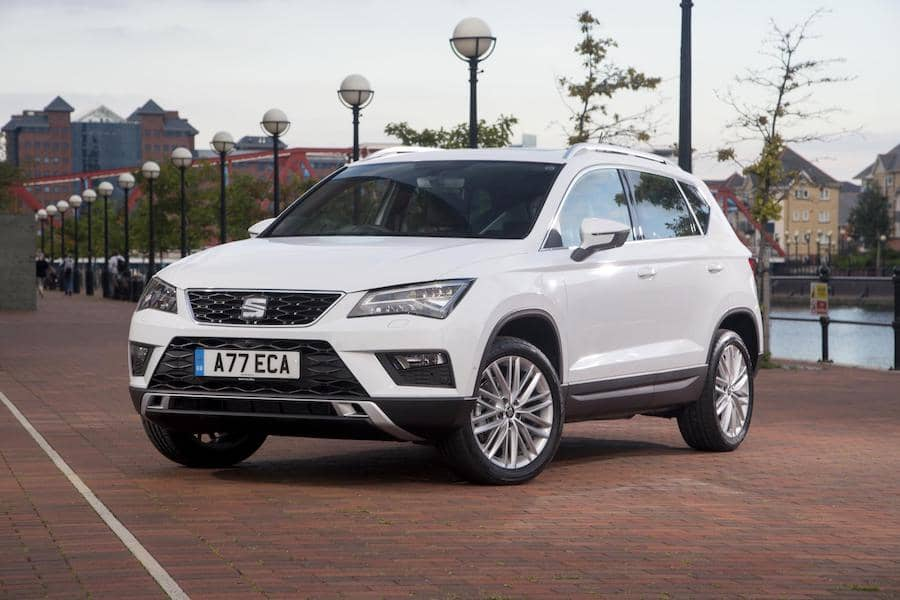 SEAT Ateca (2016 - present) front view | The Car Expert