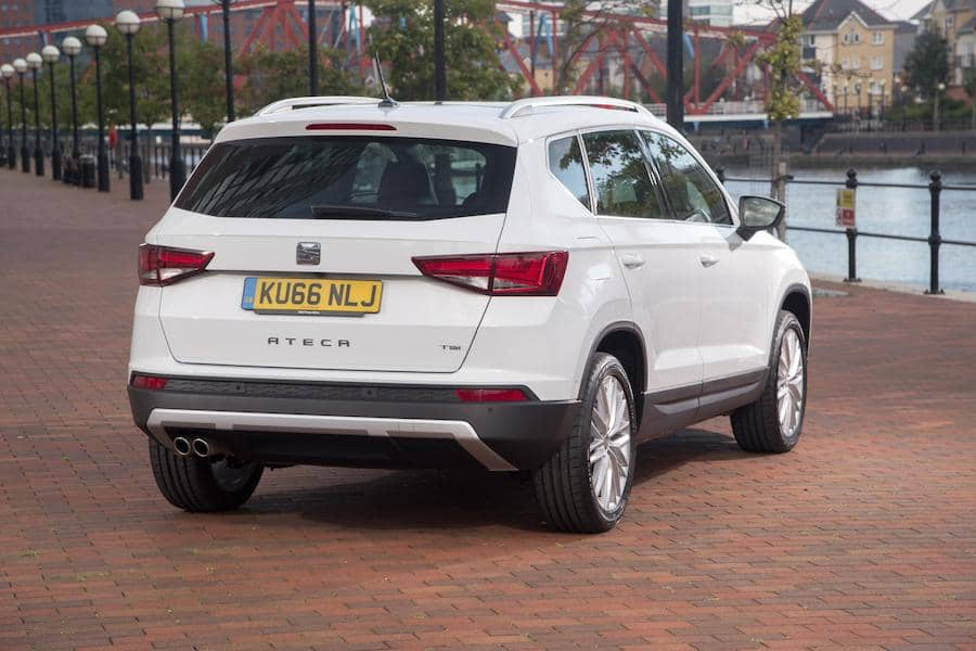SEAT Ateca (2016 - present) rear view | The Car Expert