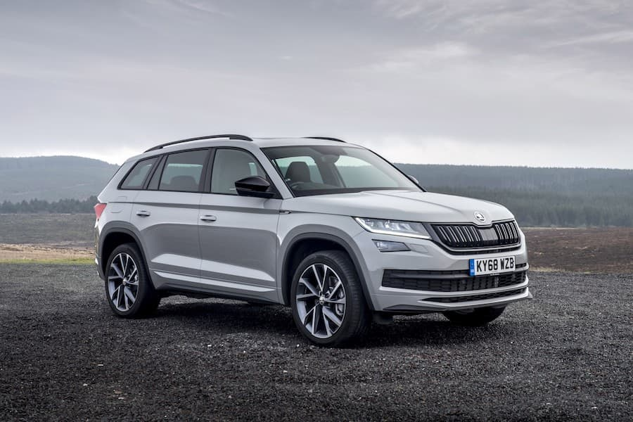 Skoda Kodiaq Sportline (2017) front view | The Car Expert