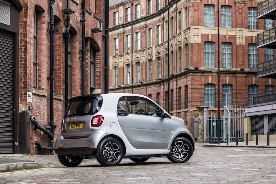 Smart EQ Fortwo (2015 - present) rear | The Car Expert