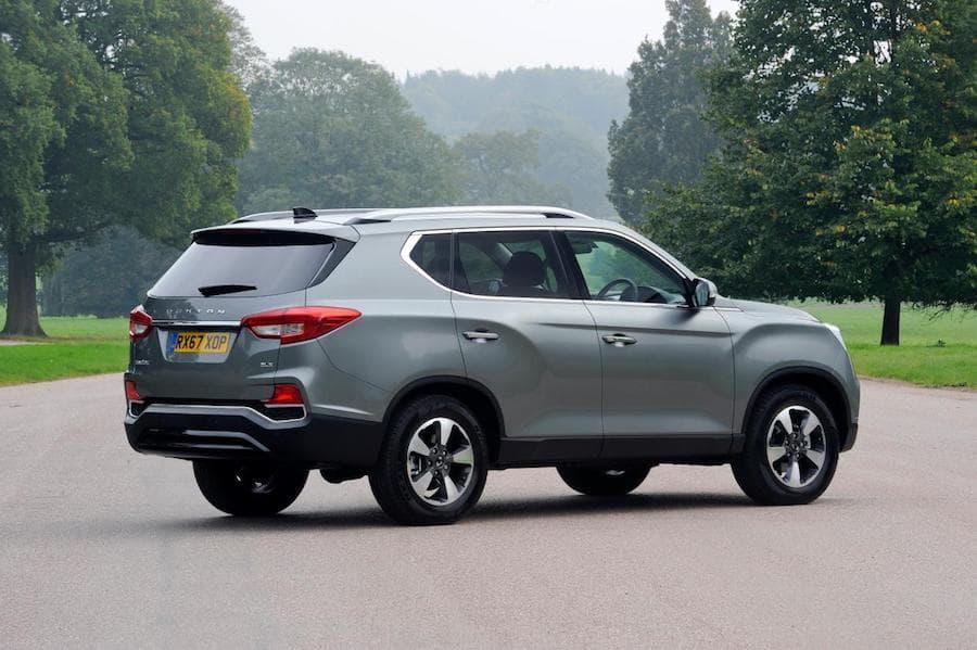 SsangYong Rexton (2017 - present) rear view | The Car Expert
