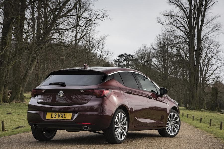 Vauxhall Astra hatch (2015 - present) rear view | The Car Expert