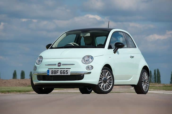 Fiat 500 (2015 - present) front view | The Car Expert