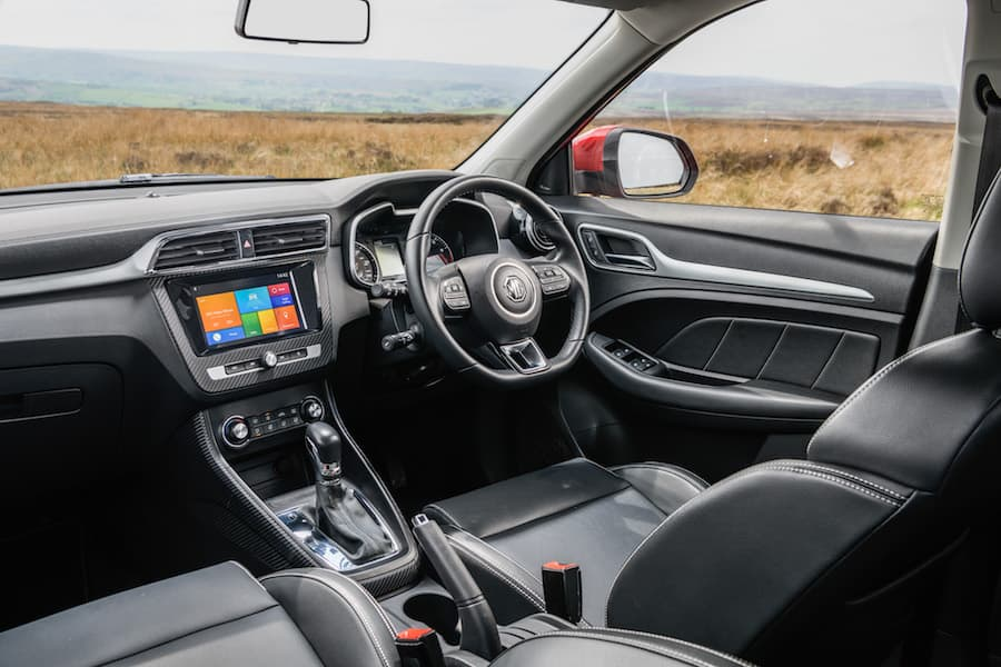 MG ZS (2017 ) - interior and dashboard | The Car Expert