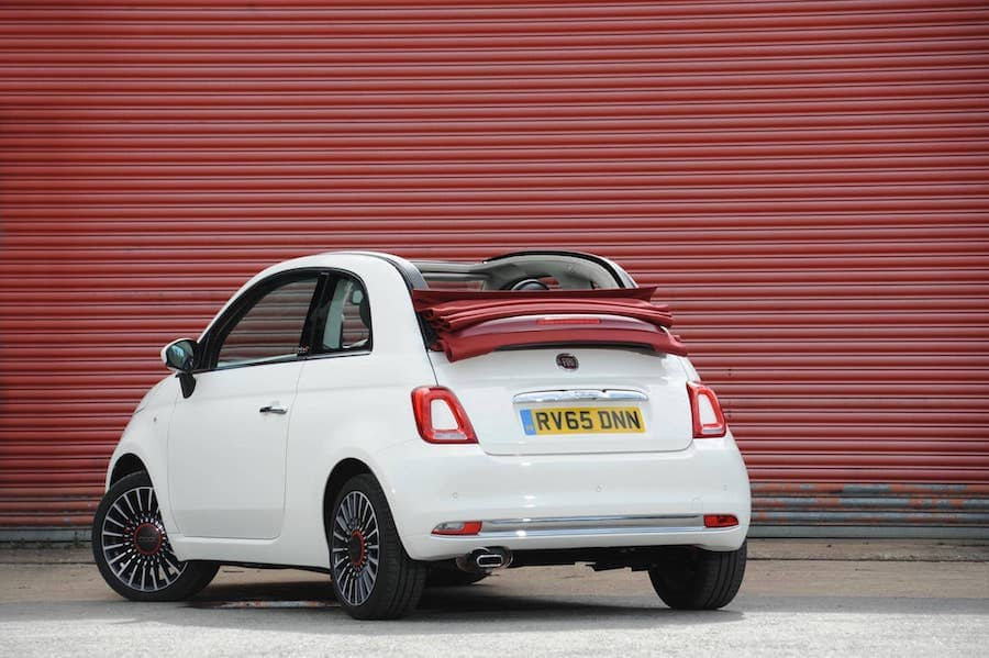 Fiat 500 (2015 - present) rear view | The Car Expert