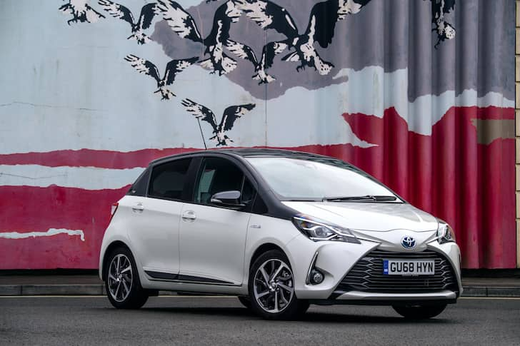 Toyota Yaris Y20 review - front | The Car Expert