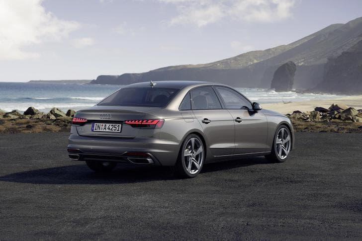 2020 Audi A4 saloon - rear view | The Car Expert