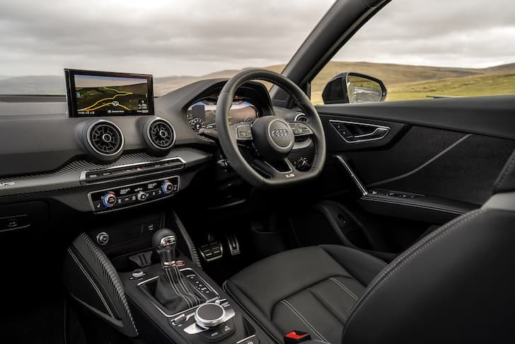 Audi SQ2 review 2019 - interior and dashboard   The Car Expert