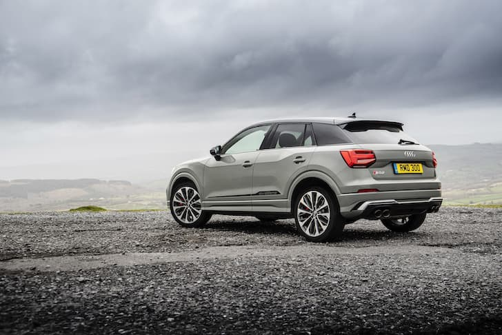 Audi SQ2 review 2019 - rear view   The Car Expert
