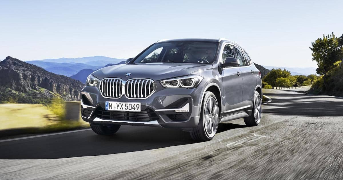 Updated BMW X1 SUV gets the big grille treatment 1