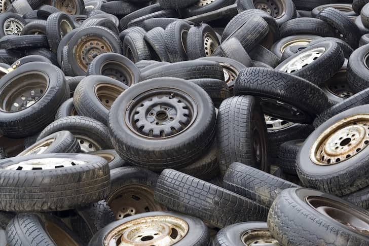 Motorists warned about buying used tyres