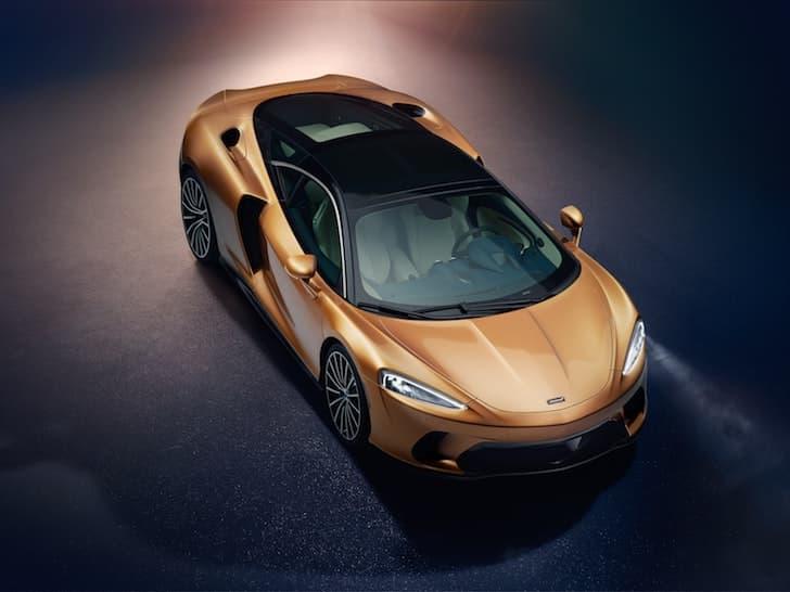 2020 McLaren GT - top view | The Car Expert