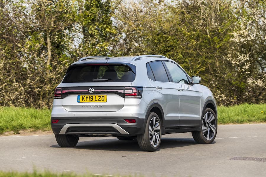 Volkswagen T-Cross road test 2019 - rear view | The Car Expert