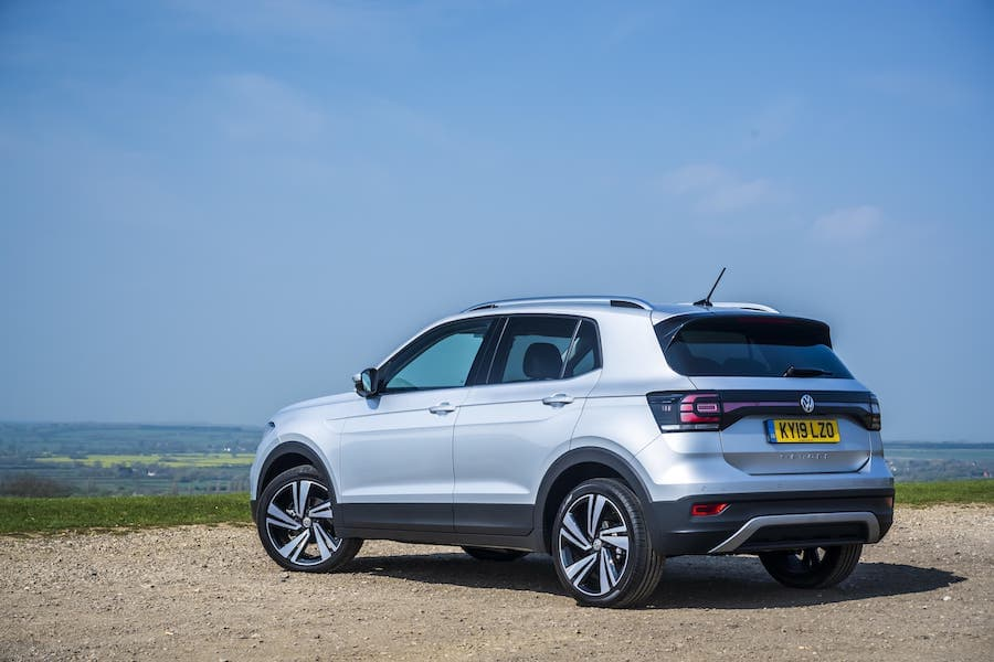 Volkswagen T-Cross review 2019 - rear view | The Car Expert
