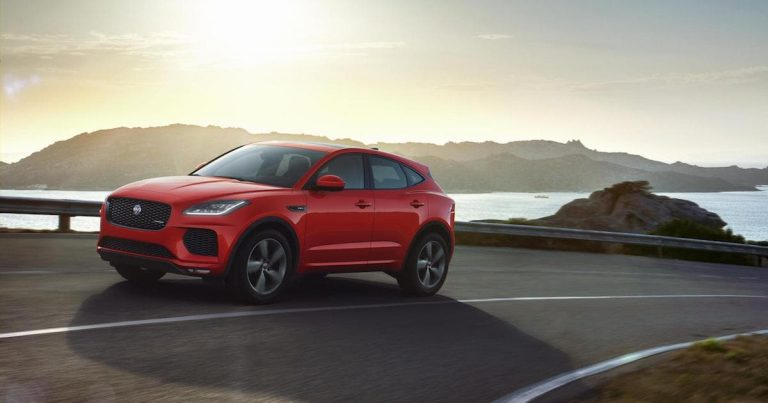 Jaguar E-Pace takes the Chequered Flag (Edition)