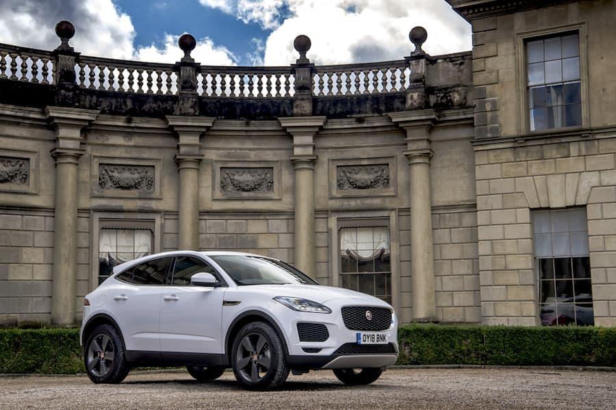 Jaguar E-Pace (2017) - front view | The Car Expert