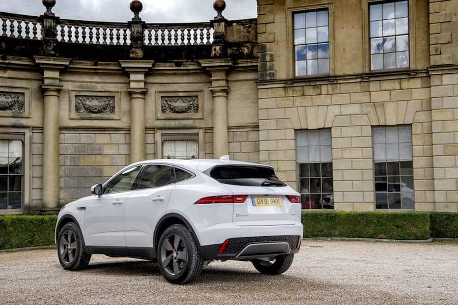 Jaguar E-Pace (2017) - rear view | The Car Expert