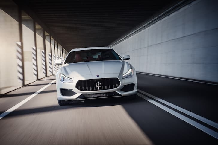 Maserati has used V8 petrol Ferrari engines for the last 17 years