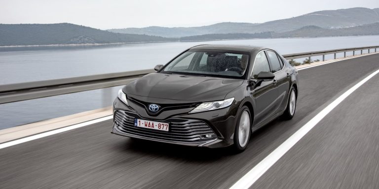 Toyota Camry test drive