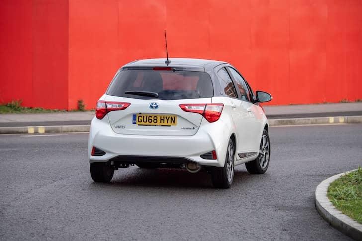 Toyota Yaris Y20 road test 2019 - rear | The Car Expert
