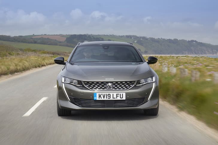 2019 Peugeot 508 SW road test - front | The Car Expert