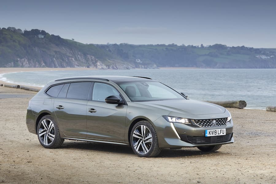 2019 Peugeot 508 SW - front | The Car Expert