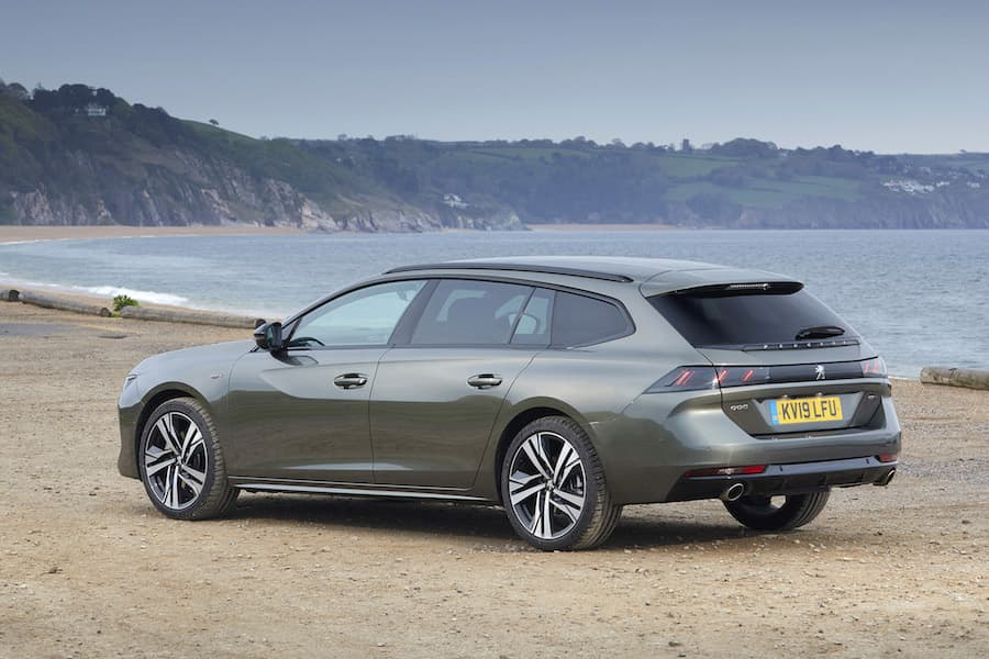 2019 Peugeot 508 SW - rear | The Car Expert
