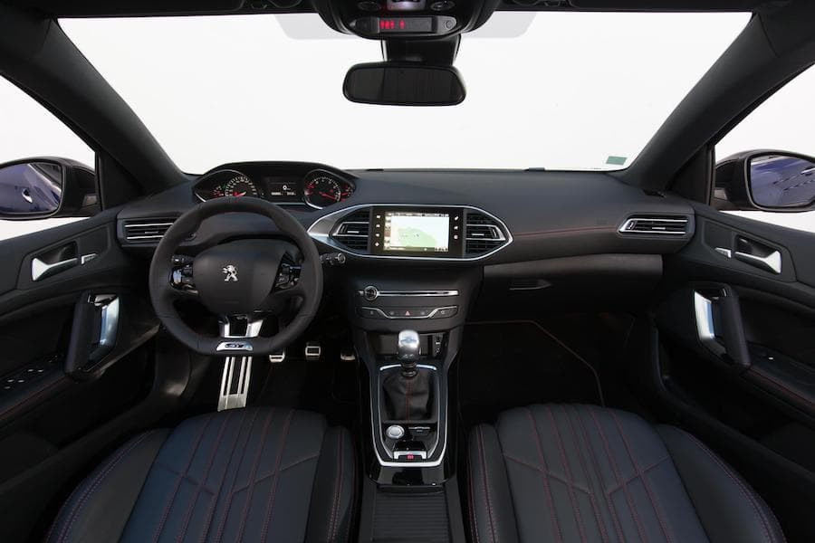 Peugeot 308 (2014 - present) interior and dashboard   The Car Expert