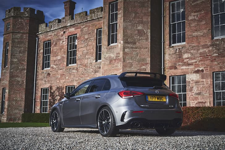 2019 Mercedes-AMG A35 review - rear view  | The Car Expert