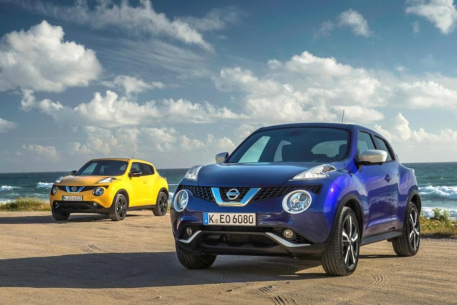 Nissan Juke (2010 - 2019) front view | The Car Expert