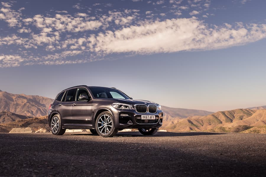 BMW X3 (2017 - present) front | The Car Expert