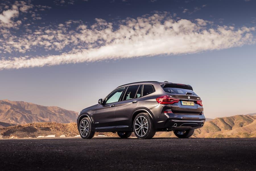 BMW X3 (2017 - present) rear | The Car Expert