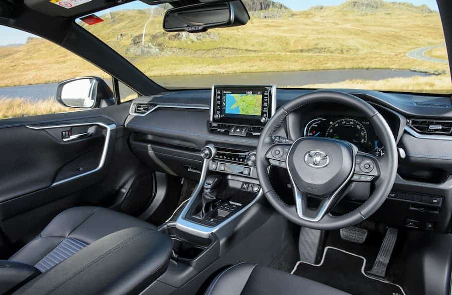 Toyota RAV4 Hybrid (2019 - present) interior and dashboard | The Car Expert