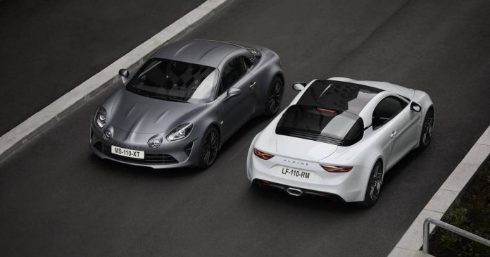 Alpine A110S gets more power and better handling