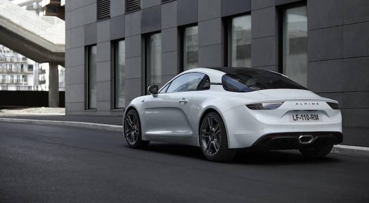 Alpine A110S gets more power and better handling 1
