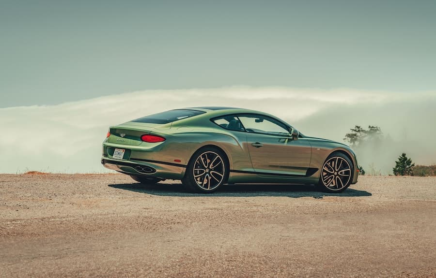 2020 Bentley Continental GT V8 - rear | The Car Expert