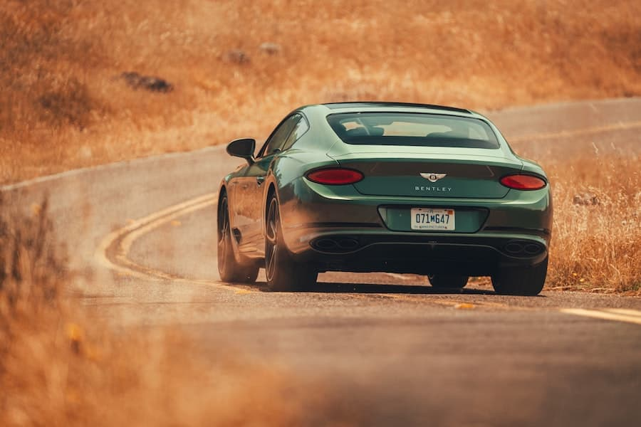 Bentley Continental GT V8 test drive 2