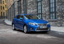 You can now pay a monthly subscription fee for a new Lexus CT like this one