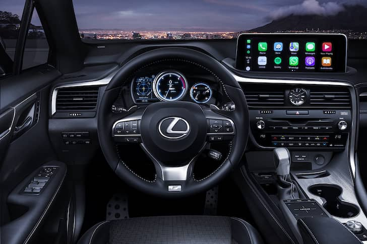 Lexus RX updated for MY2020 - interior | The Car Expert