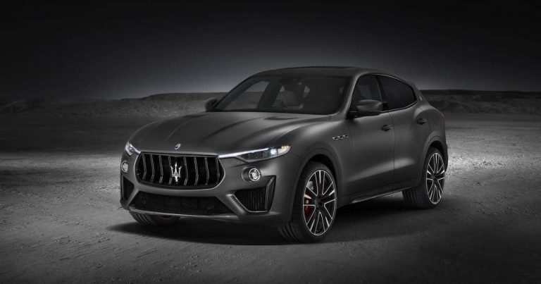 Maserati announces pricing for Levante GTS and Trofeo
