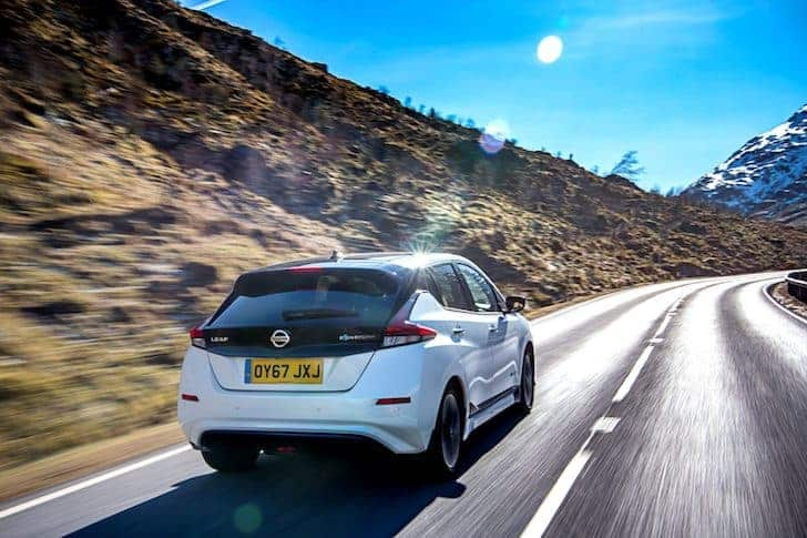 Nissan Leaf on the road | The Car Expert