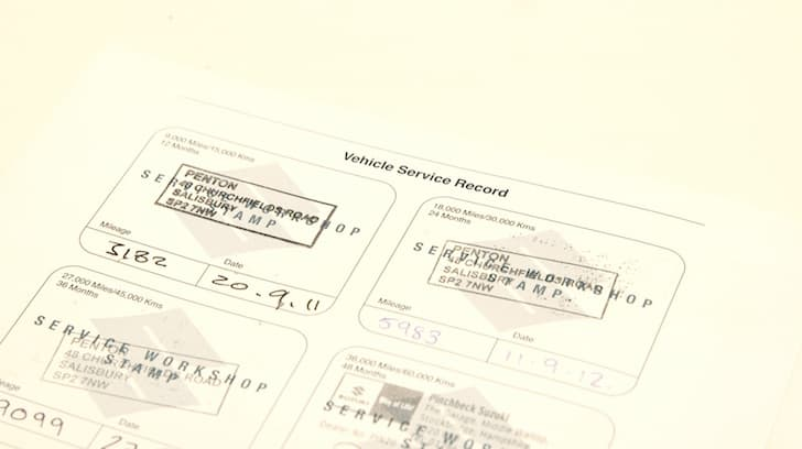 A full service history as shown in the service books | The Car Expert