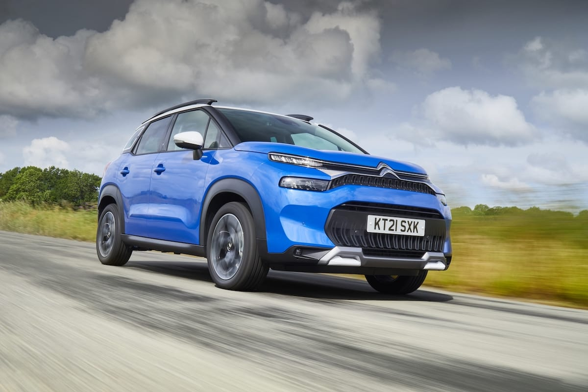 Citroën C3 Aircross (2021 onwards) - front view