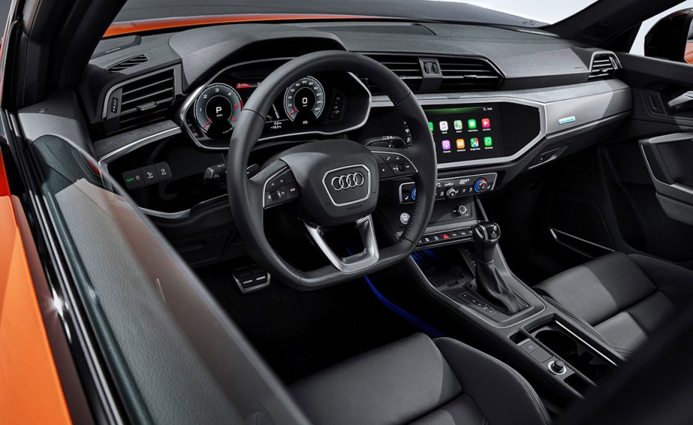 2020 Audi Q3 Sportback interior and dashboard (LHD) | The Car Expert