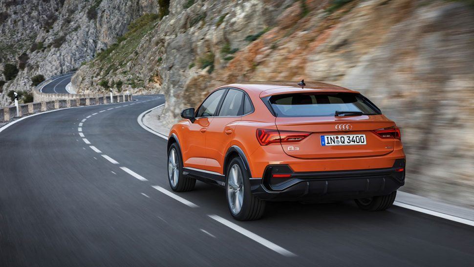 2020 Audi Q3 Sportback rear view (LHD) | The Car Expert