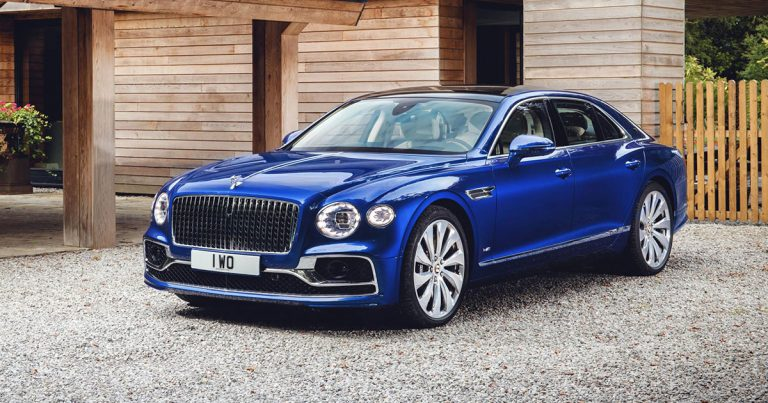 Bentley Flying Spur launches with limited edition model