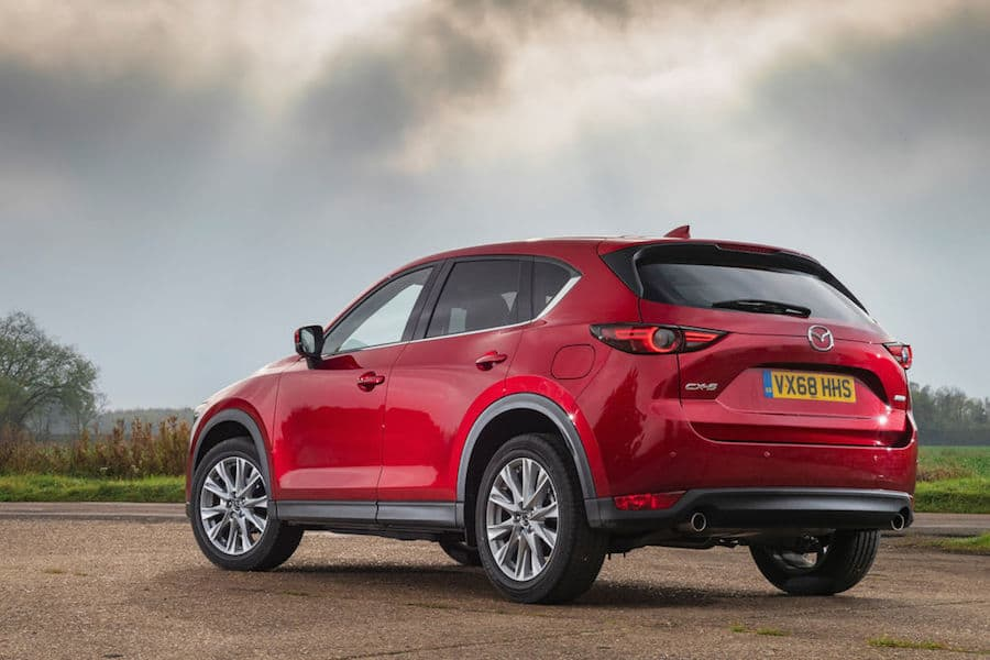 Mazda CX-5 (2018) - rear view | The Car Expert